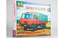 Tatra 815V26 бортовой, сборная модель автомобиля, scale43, AVD Models