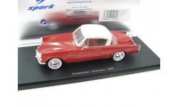 Studebaker Champion 1953 Red, масштабная модель, 1:43, 1/43, Spark
