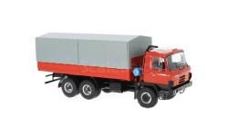 TATRA 815 V26.208 6х6 бортовой грузовик с тентом 1994 Red