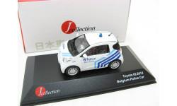 Toyota IQ Police Belgium white/blue 2012 г. SALE!, масштабная модель, 1:43, 1/43, J-Collection