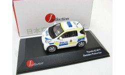 Toyota IQ Police Sweden white/yellow/blue 2011 г. SALE!, масштабная модель, 1:43, 1/43, J-Collection