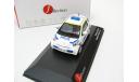 Toyota IQ Police Sweden white/yellow/blue 2011 г. SALE!, масштабная модель, 1:43, 1/43, J-Collection
