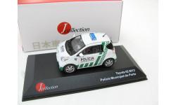 Toyota IQ Policia Municipal do Porto white/green 2013 г. SALE!, масштабная модель, 1:43, 1/43, J-Collection