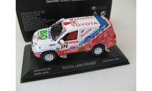 TOYOTA Land Cruiser 200 Dakar 2009 #378 Gibon / Miura, масштабная модель, scale43, Norev