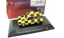 Trabant P601 Follow Me Leipzig-Altenburg Airport yellow/black, масштабная модель, 1:43, 1/43, IST Models