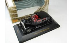 VOISIN C28 AMBASSADE Black 1936 г. SALE!, масштабная модель, 1:43, 1/43, IXO Museum (серия MUS)