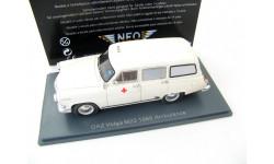 VOLGA GAZ M22E Ambulance (export version) 1960 г. RARE!