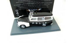 Volvo PV445 Duett Polis (Sweden Police) RARE!, масштабная модель, Neo Scale Models, scale43