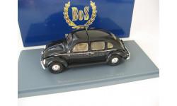 VW Beetle Rometsch 4-Türer Taxi 1953 black, масштабная модель, Best оf Show, Volkswagen, scale43