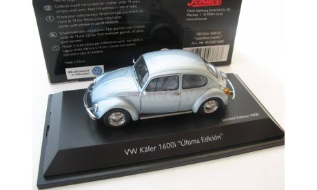VW Käfer 1600i speed blue metallic, масштабная модель, 1:43, 1/43, SCHUCO, Volkswagen