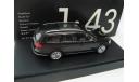 VW Passat Variant grey 2010 г., масштабная модель, 1:43, 1/43, Schuco, Volkswagen
