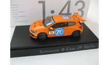 VW Scirocco #11 Scirocco R-Cup 2012 Team ZF Sachs 2012 г., масштабная модель, Spark, Volkswagen, scale43