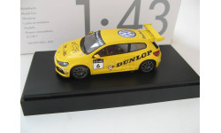 VW Scirocco #6 Scirocco R-Cup Team Dunlop 2012 г., масштабная модель, 1:43, 1/43, Spark, Volkswagen