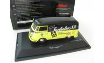 VW T1 'Sanhelios 1', black-yellow Редкий Шуко!, масштабная модель, 1:43, 1/43, Schuco, Volkswagen