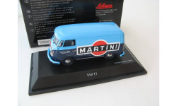 VW T1 Van Martini dark blue/light blue