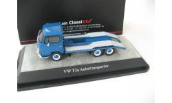 VW T2a Autotransporter blue