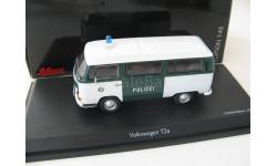 VW T2a bus 'Polizei' Редкий Шуко!