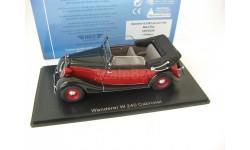 WANDERER W240 cabriolet 1935 black/red