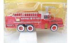 Willeme W8 6x6 Aeroport de Paris fire Department red/white/yellow, масштабная модель, Atlas, scale43