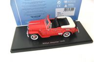 Willys Jeepster 1948 red SALE!, масштабная модель, 1:43, 1/43, Neo Scale Models