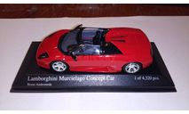 Lamborghini Murcielago Concept Car 1:43, масштабная модель, Minichamps, scale43