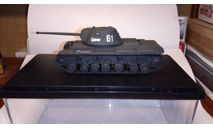 Тяжелый танк КВ-3 1:72, масштабные модели бронетехники, Zebrano, scale72