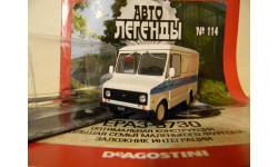 Автолегенды СССР №114  ЕРАЗ-3730, журнальная серия Автолегенды СССР (DeAgostini), scale43