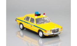 Полицейские машины мира №22 - Mercedes-Benz W116 - Милиция СССР, журнальная серия Полицейские машины мира (DeAgostini), Полицейские машины мира, Deagostini, scale43