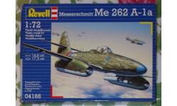 Сборная модель (пластик) Revell  1/72, Немецкий реактивный истребитель Me 262-A-1a, сборные модели авиации, Messerschmitt, 1:72