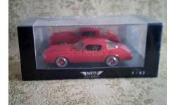 1/43 NEO44125 Chevrolet Camaro LT, масштабная модель, 1:43