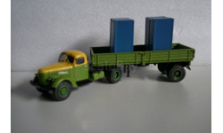 1/43 СарЛаб ЗиЛ-ММЗ-164АН с полуприцепом Одаз-885 с двумя контейнерами