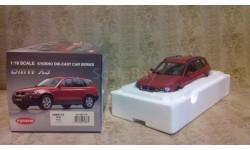 1/18 BMW X3 3.0l Red Kyosho., масштабная модель, 1:18