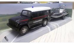 Iveco карабинеры Италии с моторным катером, масштабная модель, 1:43, 1/43, Mondo Motors