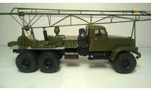 КрАЗ-255 Буровая установка, масштабная модель, 1:43, 1/43