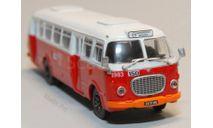 Jelcz 272 MEX 'Ogórek' автобус из серии 'Kultowe Autobusy PRL-u' 1:72, масштабная модель, DeAgostini, scale72