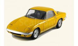 Lotus Elan Coupe S/E S3, yellow, редкая масштабная модель, 1:18, 1/18, Autoart