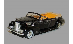 Caddillac Limousine V-16 Queen Mary, H. Truman 1948, черный