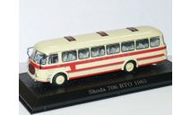 SKODA 706 RTO - 1963, бежевый/красный, масштабная модель, 1:72, 1/72, Atlas