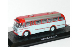Volvo B 616 - 1953, голубой/красный