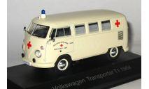 VOLKSWAGEN TRANSPORTER T1 - 1964, масштабная модель, Atlas, 1:43, 1/43
