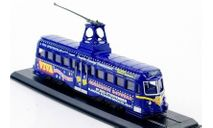 Трамвай RAILCOACH (Bruch) Blackpool - 1937, Великобритания, масштабная модель, Atlas, scale87