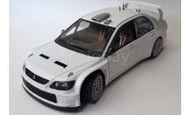 MITSUBISHI LANCER WRC05 PLAIN BODY VERSION (WHITE), масштабная модель, Autoart, scale18