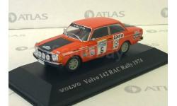 Volvo 142 RAC Rally - 1974, масштабная модель, 1:43, 1/43, Atlas