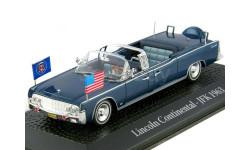 Lincoln Continental Limousine SS-100-X J.F. Kennedy 1963, темно-синий
