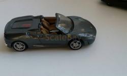 Ferrari F430 Spider, масштабная модель, 1:43, 1/43, Суперкары. Лучшие автомобили мира, журнал от DeAgostini, Aston Martin