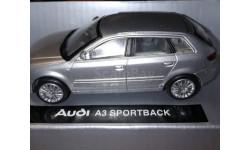 Audi A3 Sportback, масштабная модель, NewRay, scale43