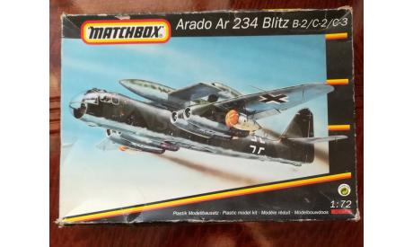 Arado Ar 234 Blitz B-2/C-2/C-3, сборные модели авиации, Matchbox, scale72
