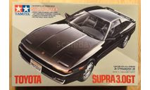 Toyota Supra 3.0GT Turbo 1986 1/24 Tamiya, сборная модель автомобиля, scale24