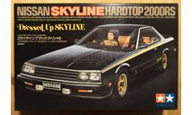 Nissan Skyline 2000RS Hardtop Dressed Up 1/24 Tamiya, сборная модель автомобиля, scale24