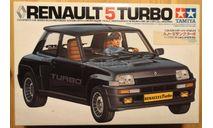 Renault 5 Turbo 1/24 Tamiya, сборная модель автомобиля, scale24